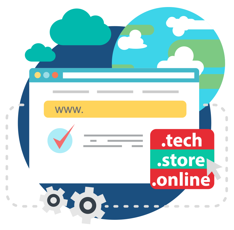 Dominio .tech . store .online GRATIS en SERED ESPAÑA