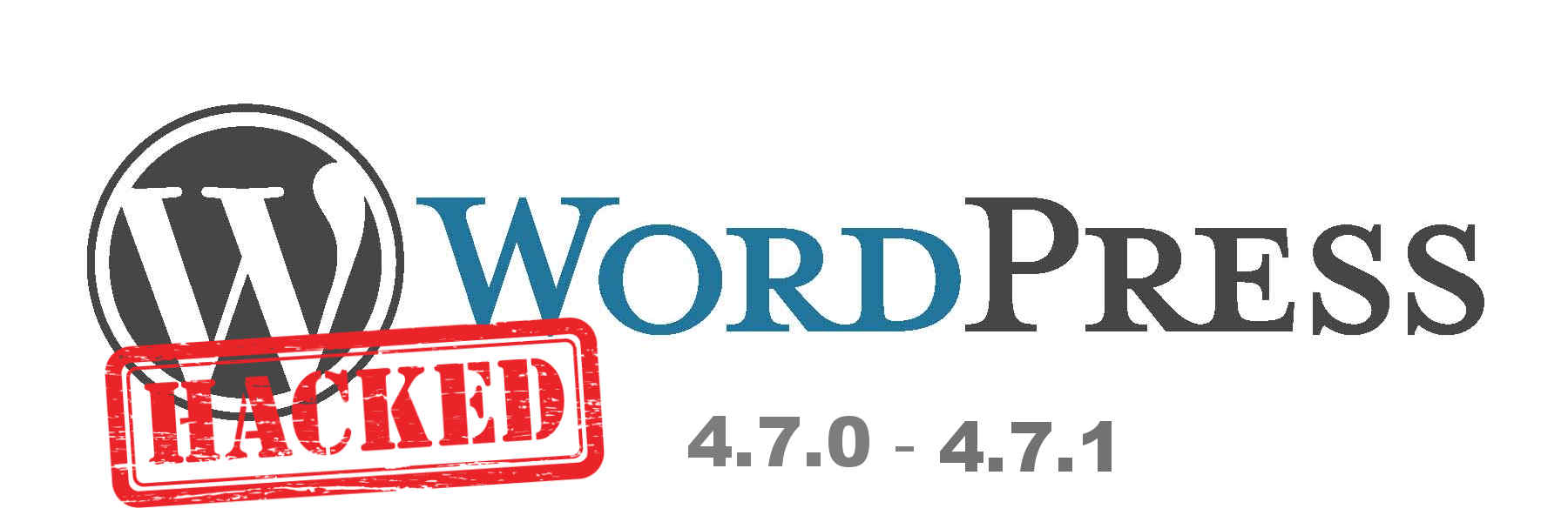 WordPress 4.7.0 y  4.7.1 vulnerable ,  actualiza Ya.