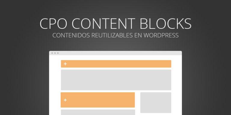 Aprende a crear secciones y bloques de contenido en WordPress