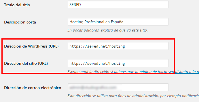 Wordpress se ha caído