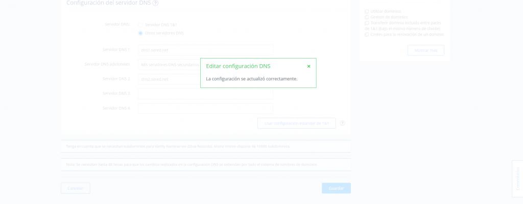 Cambiar DNS