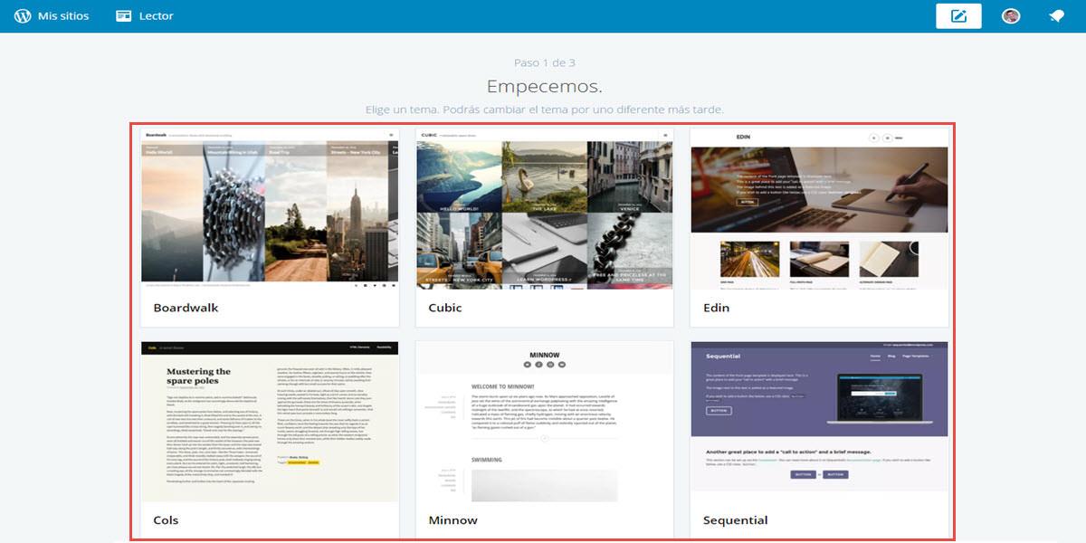 Cómo elegir, descargar e instalar un theme en WordPress