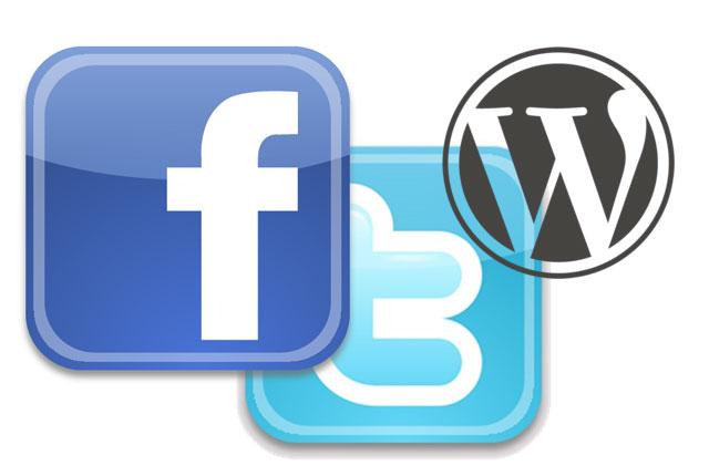 Cómo mostrar los enlaces de Twitter y el Facebook de un autor