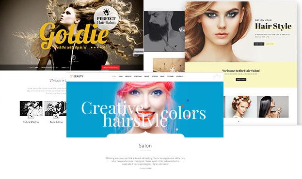 WordPress para una peluquería: las tres mejores plantillas