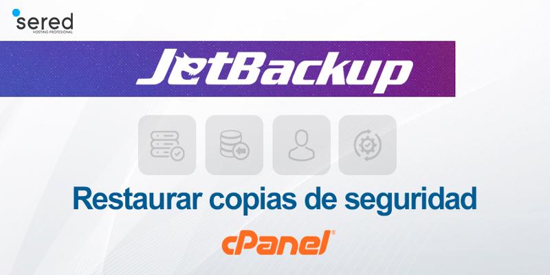 Como restaurar copias de seguridad con JetBackup