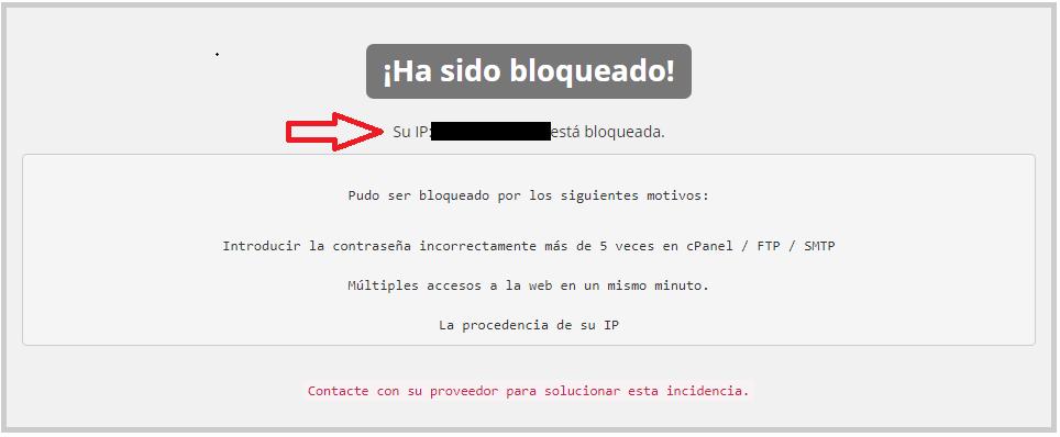 Desbloquear IP