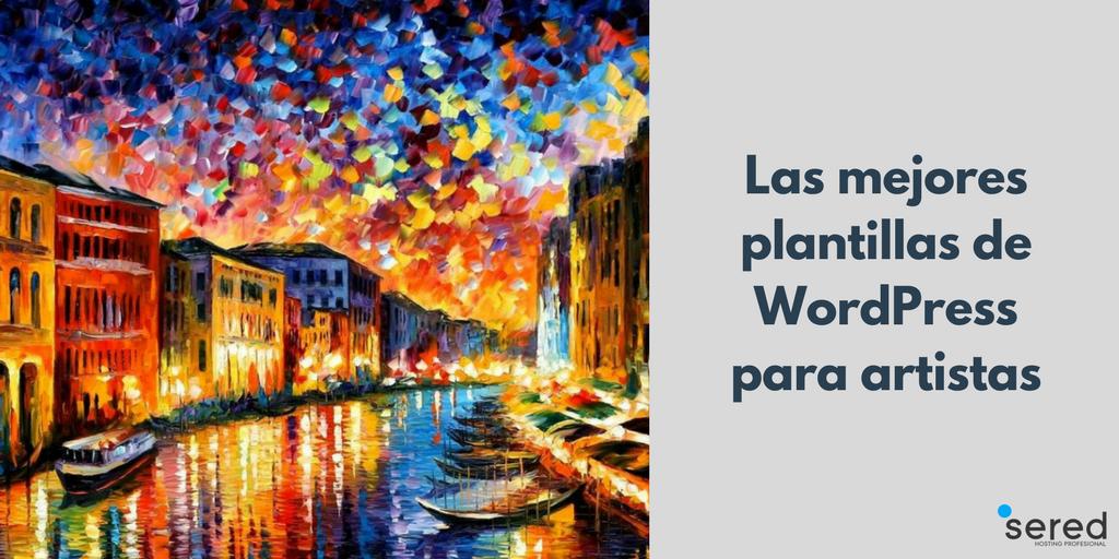 Conozca las mejores plantillas de WordPress para artistas