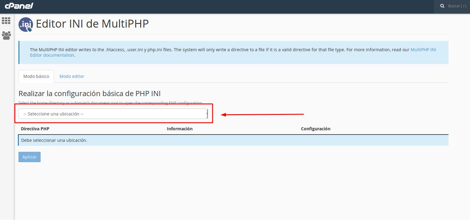 PHP INI