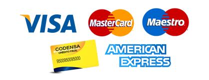 Pagos mediante Tarjetas de Débido o Crédito